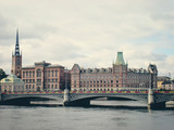 Stockholm harbour -  Sweden, Europe