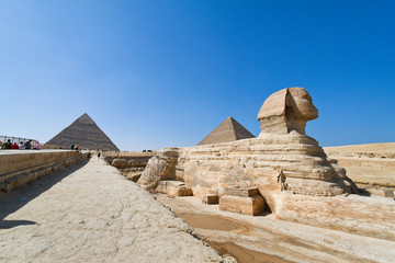 Aegypten, Giseh, Sphinx