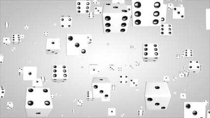 3D dice particles 01