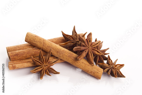 cinnamon and star anise