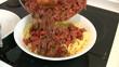 Espagueti con salsa boloñesa