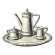 Plateau de café