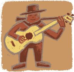 Rude bluesman