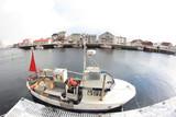 Henningsvær in Lofoten's fishing boat