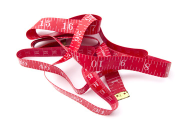 Red tape measure