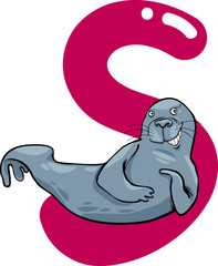 S for seal