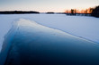 River and ice