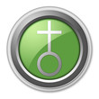 "Green 3D Style Button ""Church"""