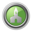 "Green 3D Style Button ""Chapel"""