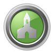 "Green 3D Style Button ""Chapel"""
