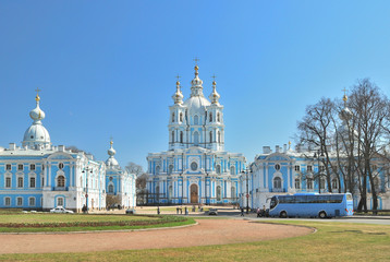 St. Petersburg.  Smolny Cathedral