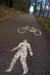 pista ciclabile e pedonale