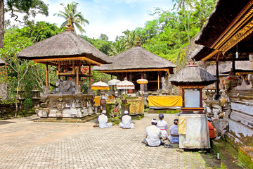 Gunung Kawi Temple and Candi (shrines)  Bali, Indonesia