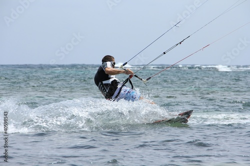Kite surf - En action