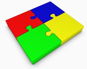 Puzzle bunt