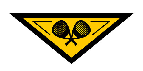Paddle emblem
