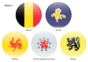Belgian Flags