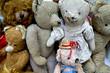 Nounours, ours, peluche, jouet, antiquité, brocante, joujou