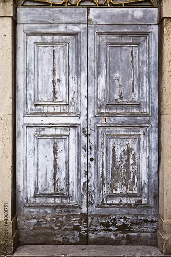 Old Door With Texture