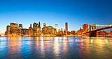 Fototapety Manhattan, New York City. USA.