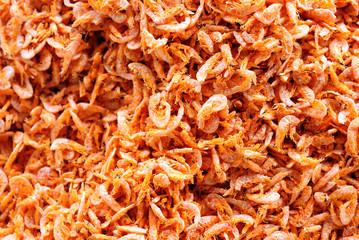 dried salted prawn, sea food