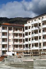 Condominium building under construction