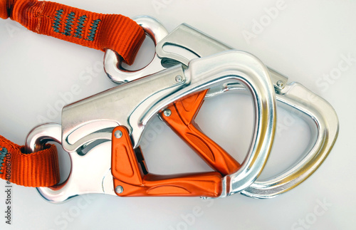 Climbing equipment - safety carabiners or quickdraws