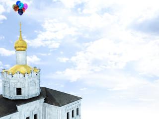 Balloons at Church