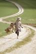 Mädchen beim Laufen