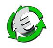 recycling euro