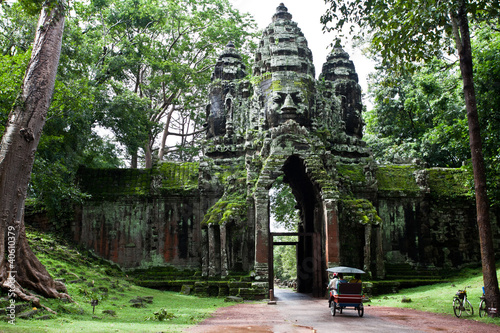 Cambodian temple - 40610379