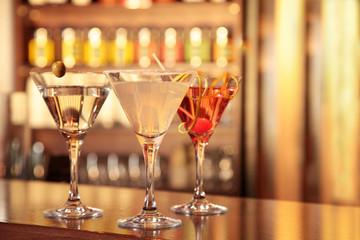 Cocktails Martini Margarita Cosmopolitan