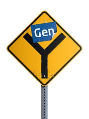 Panneau Gen Y
