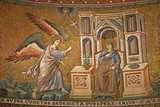 Rome - mosaic of Annuntiation - Santa Maria in Trastevere