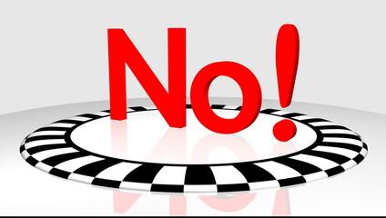 No!  3D - Video