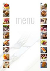 Menu, cuisine, restaurant, aliment, gastronomie, plat