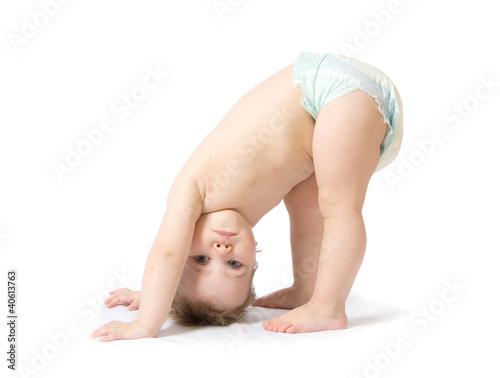 Leinwanddruck Bild baby girl