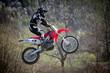salto con moto da cross