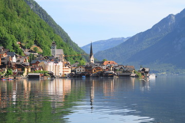 Hallstatt town and lake, unesco world heritage, Austria