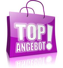 Serie: Einkaufstasche TOP ANGEBOT! lila