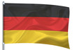 Waving flag big  - Germany