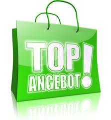Serie: Einkaufstasche TOP ANGEBOT! grün