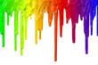 Leinwandbild Motiv Paint dripping
