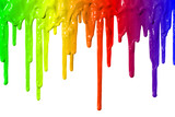 Fototapety Paint dripping