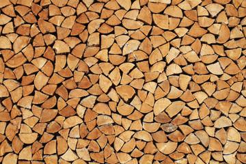 Brennholz-Textur