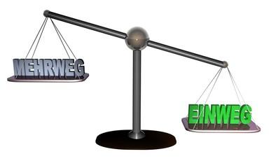 3D Waage3 - EINWEG - MEHRWEG