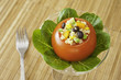 Tomato Stuffed with Quinoa Salad