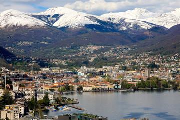 Lugano, Switzerland, Ticino, Lake Lugano