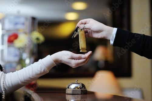 hotel reception - 40638369