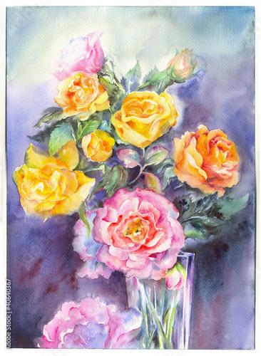 kwiaty-w-akwarela